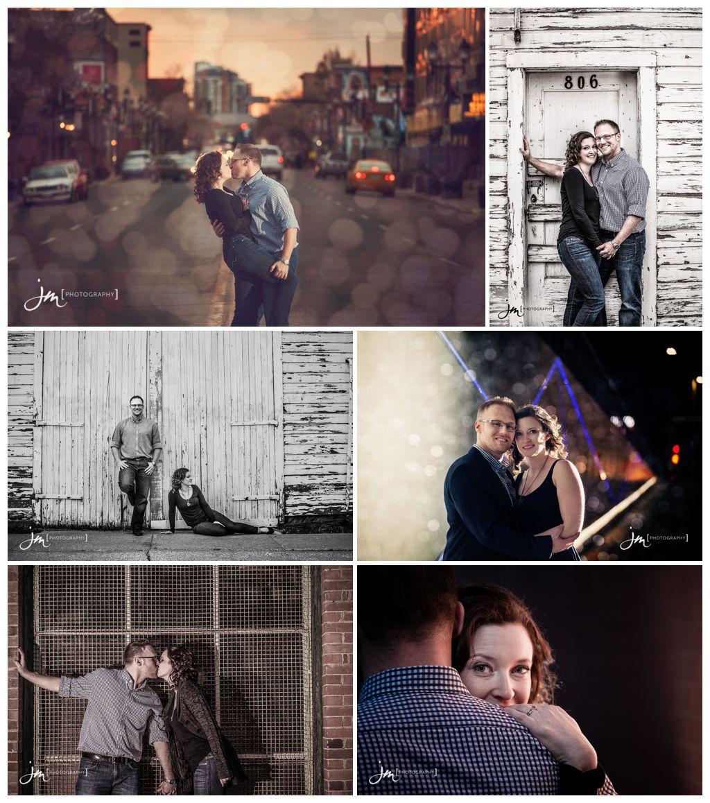 Studio Lighting Calgary: Scheffelmaier > Engagement Photos Calgary