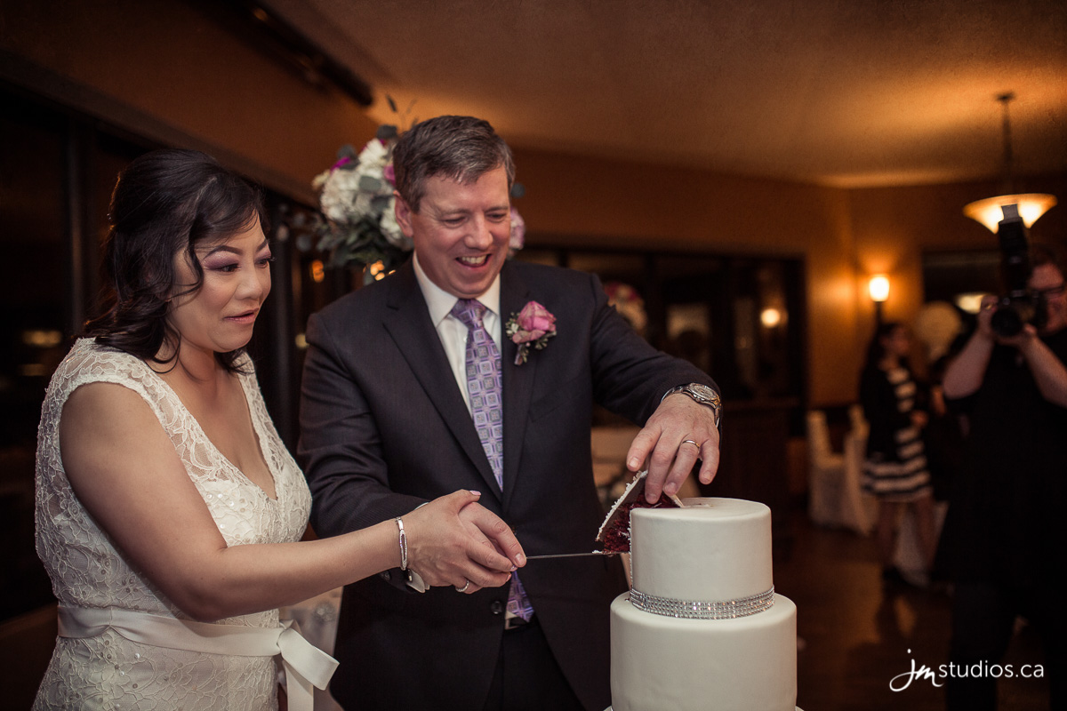 Michaels Cake Decorating Class Red Deer : The Szarmes  Wedding at Sirocco Golf Course