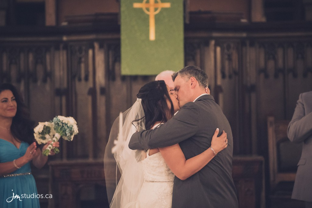 Diana and Troy's #Wedding at Knox United Church.
