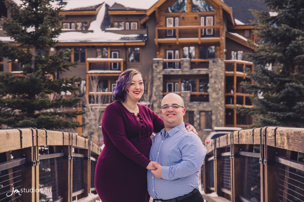 Erica and Stewart's #Engagement Session in Canmore. #EngagementPhotos by Calgary Engagement Photographers JM Photography © 2018 http://www.JMstudios.ca #JMweddings #JMstudios #JMphotography #EngagementPhotography #EngagementPhotos