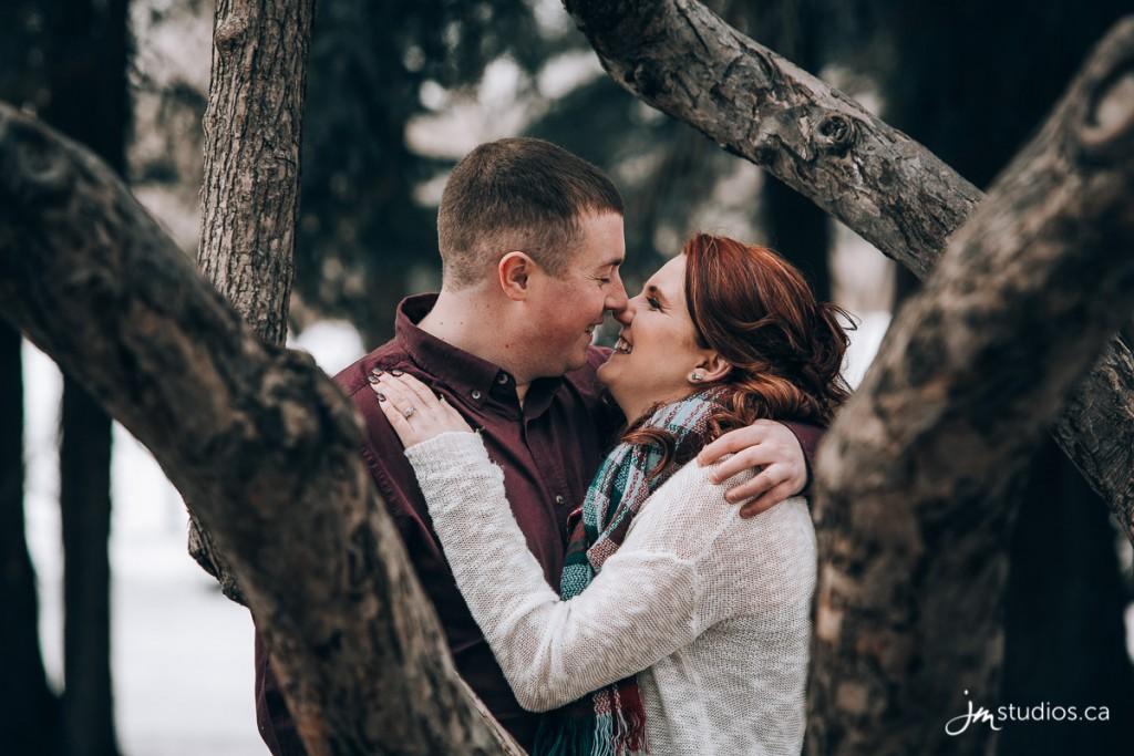 Kenadi and Alex's #Engagement Session at Edworthy Park along the Bow River. #EngagementPhotos by Calgary Engagement Photographers JM Photography © 2018 http://www.JMstudios.ca #JMweddings #JMstudios #JMphotography #EngagementPhotography #EngagementPhotos