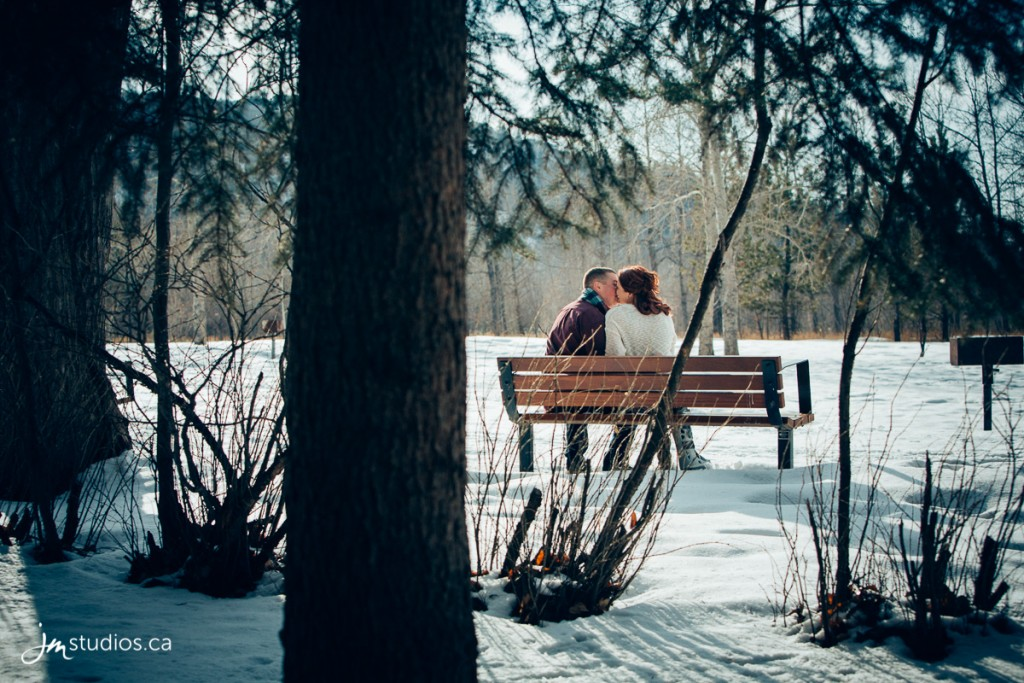 Kenadi and Alex's #Engagement Session at Edworthy Park along the Bow River. #EngagementPhotos by Calgary Engagement Photographers JM Photography © 2018 http://www.JMstudios.ca #JMweddings #JMstudios #JMphotography #EngagementPhotography #EngagementPhotos