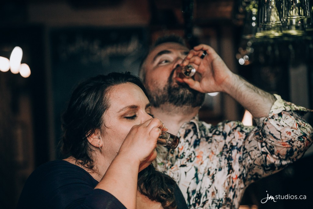 Jodey and Ryan #WeddingReception at the Dog & Duck Public House. Images by Calgary Wedding Photographers JM Photography © 2018 http://www.JMstudios.ca #JMweddings #JMstudios #JMevents #JMphotography #WeddingPhotography #WeddingPhotographers #YYCevents #YYCweddings #YYCliving #StrobePro #scottsmanhill #scottsmanshill #dogandduck #dogandduck