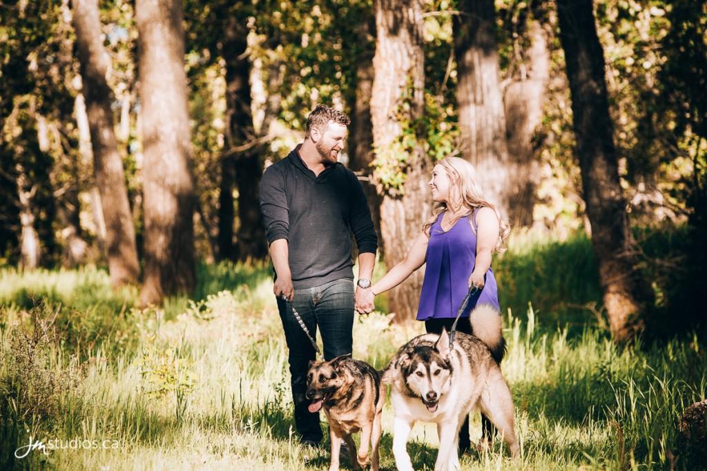 Zoe and Ryan's #Engagement Session at Fish Creek Park along the Bow River. #EngagementPhotos by Calgary Engagement Photographers JM Photography © 2018 http://www.JMstudios.ca #JMweddings #JMstudios #JMphotography #EngagementPhotography #EngagementPhotos #doglover #doglife #doglove #ilovemydog #BowRiver #FishCreekPark