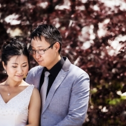 The Zhu's Share their Engagement Session Experience at JM Photography