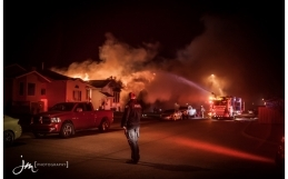 Fire on Erin Meadow Way Video by JM Photography