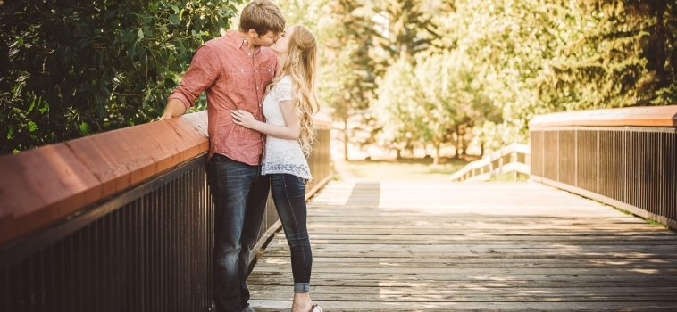 The Jensen's Share their Engagement Session Experience at Henrietta Louise Edwards Park