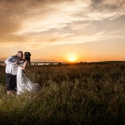 The Miller's Wedding at The Rocking R Guest Ranch by Strathmore