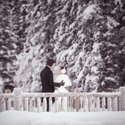The Narang's Wedding at the Chateau Lake Louise in Banff National Park