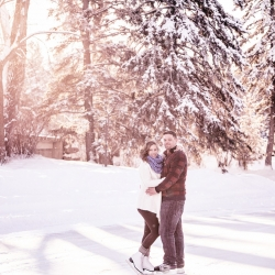 The McMillan's Engagement Session at Calgary's Bowness Park