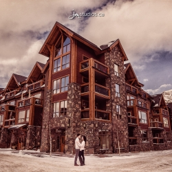 The Cuzzani's Engagement Session in Canmore