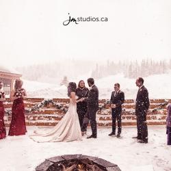The Rodgers' Wedding at Banff's Sunshine Mountain Lodge