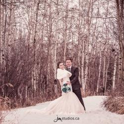 The Burghardt's Wedding at Calgary's Springbank Links Golf Course