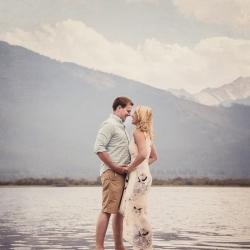 The Britt's Engagement Session at Banff's Vermillion Lakes