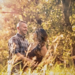The Llewellyn's Engagement Session at Calgary's Bird Sanctuary
