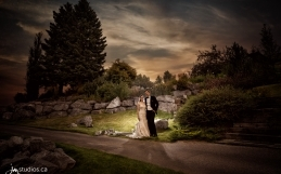 The Johnson's Wedding at Calgary's Valley Ridge Golf Club