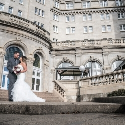 The Martin's Wedding at Edmonton's Hotel Macdonald