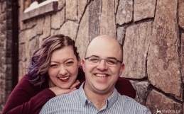 The Dornan's Engagement Session in Canmore