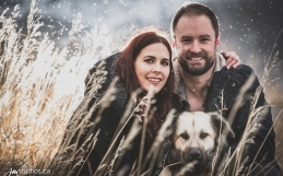 The Sheppard's Engagement Session at Calgary's Nose Hill Park