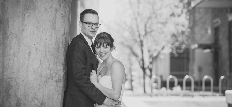 The Keegan Sneak-a-Peek Pics from their wedding on SAIT's beautiful Campus