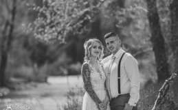 The Walters' Sneak-a-Peek Pics from their wedding at the Gazebo in Fish Creek Park