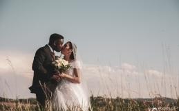 The Stewart's Sneak-a-Peek Pics from their wedding at Sirocco Golf Club
