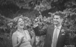 The Davidson-Lenz's Sneak-a-Peek Photos from their wedding at the Calgary Zoo