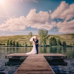 The Silbernagel's Wedding Photos in Crossfields Alberta