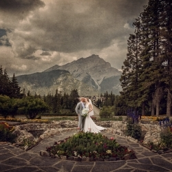 The Cenaiko's Banff Wedding at the Moose Hotel and Suites